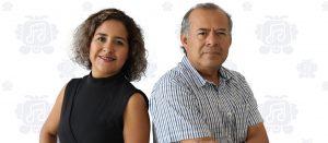 Javier Chavez Ataxca y Joana Maldonado