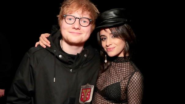 Ed Sheeran y Camila Cabello