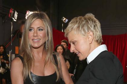 Jennifer Aniston y Ellen Degeneres