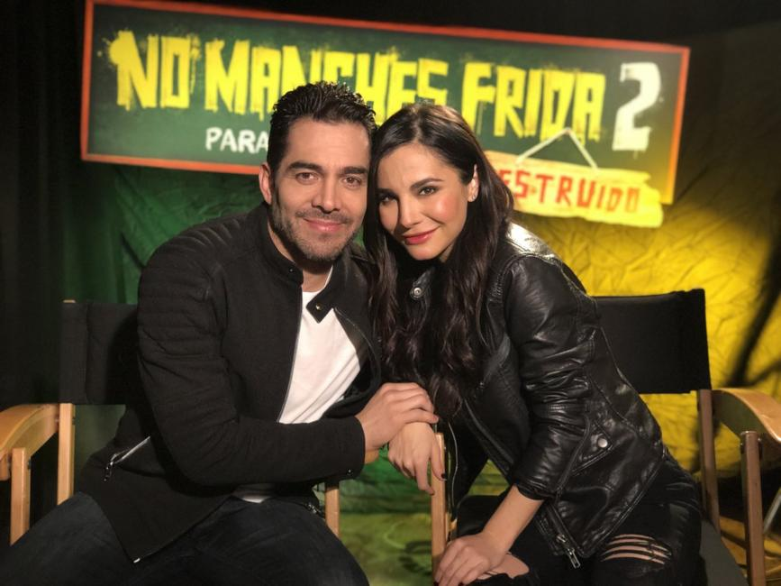Omar Chaparro y Martha Higadera