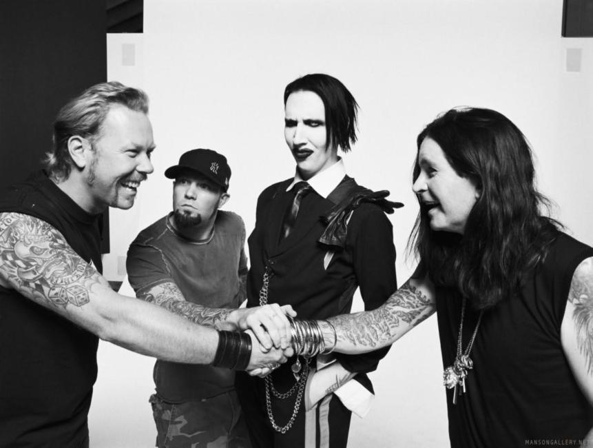 Ozzy y Manson