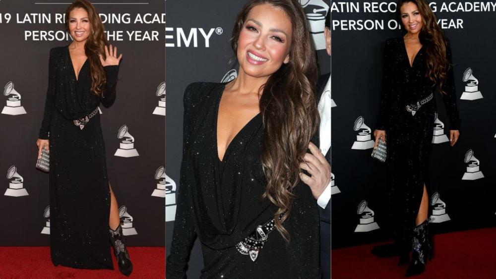 Thalía se luce con un extravagante vestido! - Haahil de Radio Turquesa
