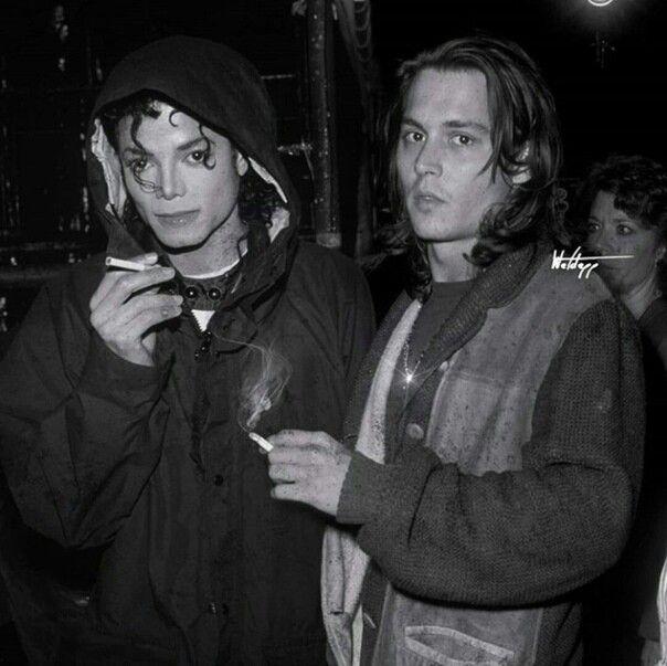 Michael Jackson y Johnny Depp