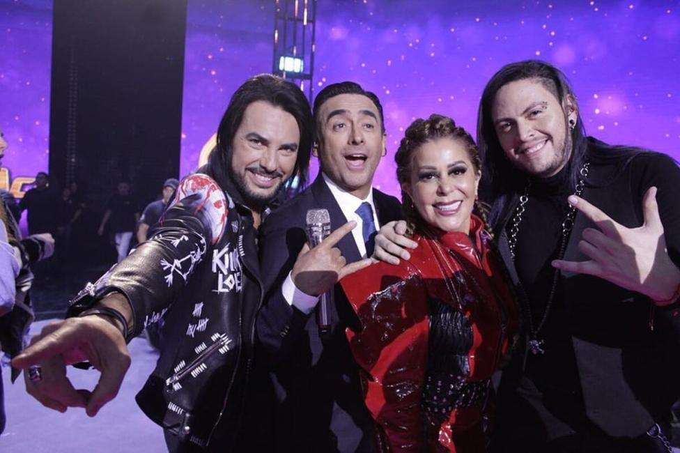 Beto Cuevas y Alejandra Guzmán