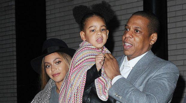 Jay Z, Beyoncé y Blue Ivy