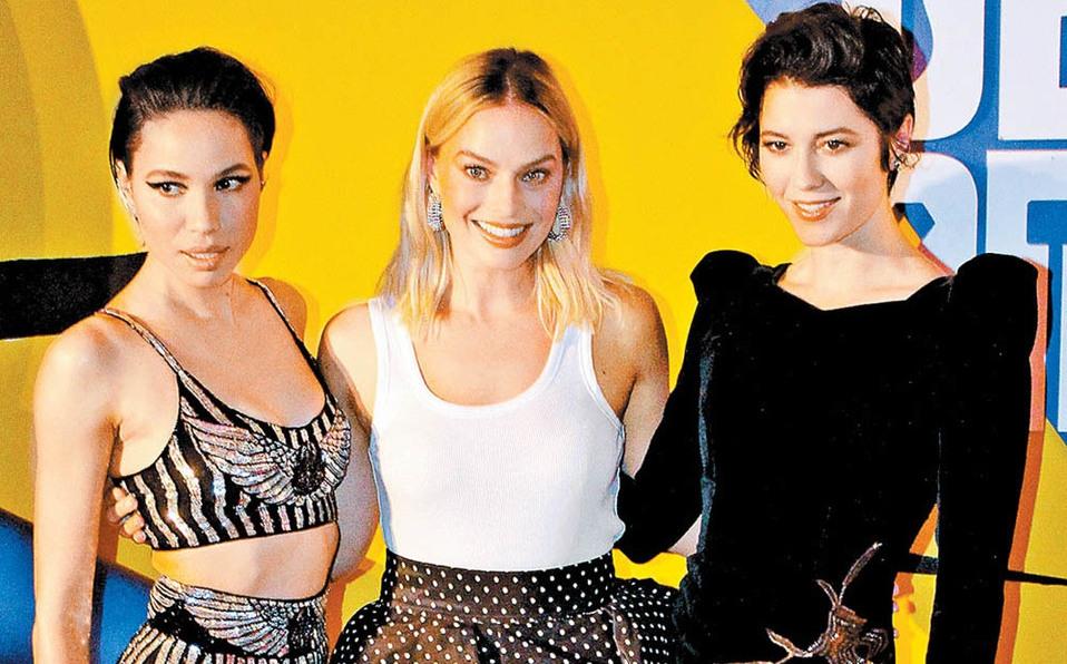 Margot Robbie, Jurnee Smollett-Bell y Mary Elizabeth Winstead