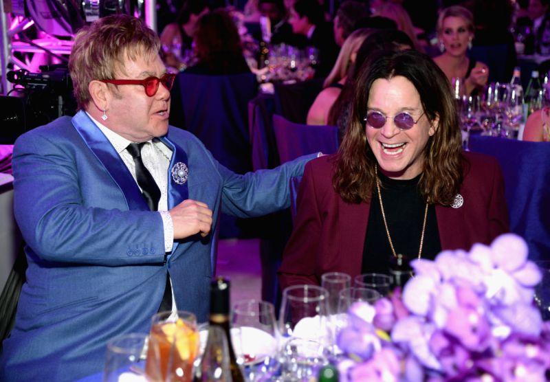Ozzy Osbourne y Elton John