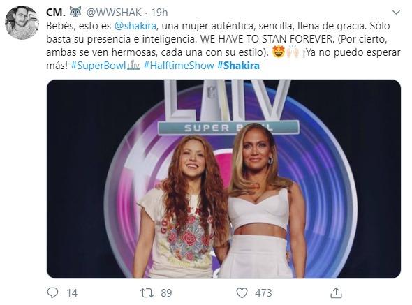 Shakira y Jennifer López