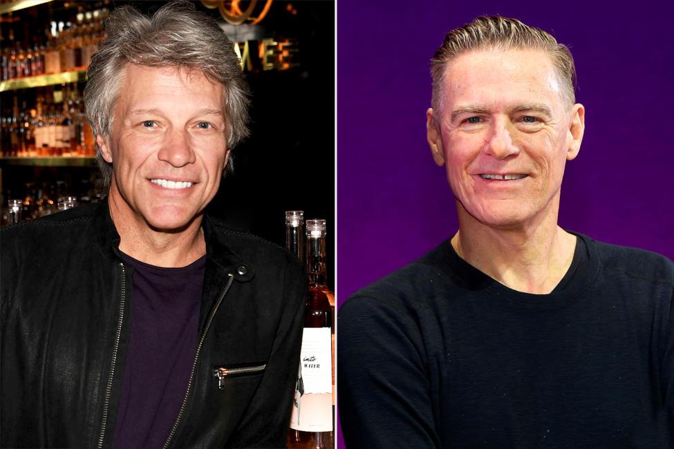 Bon Jovi y Bryan Adams