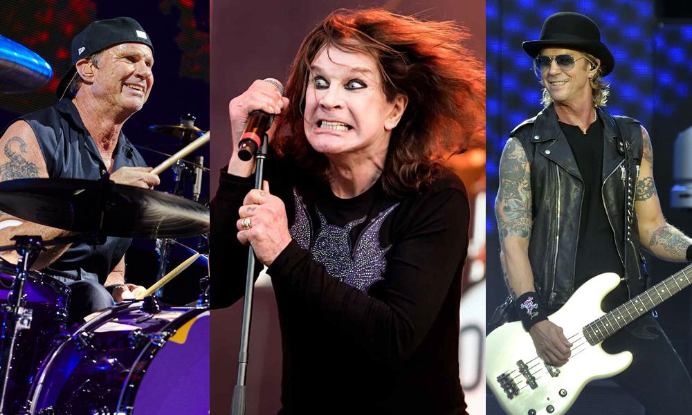 Duff McKagan, Chad Smith y Ozzy