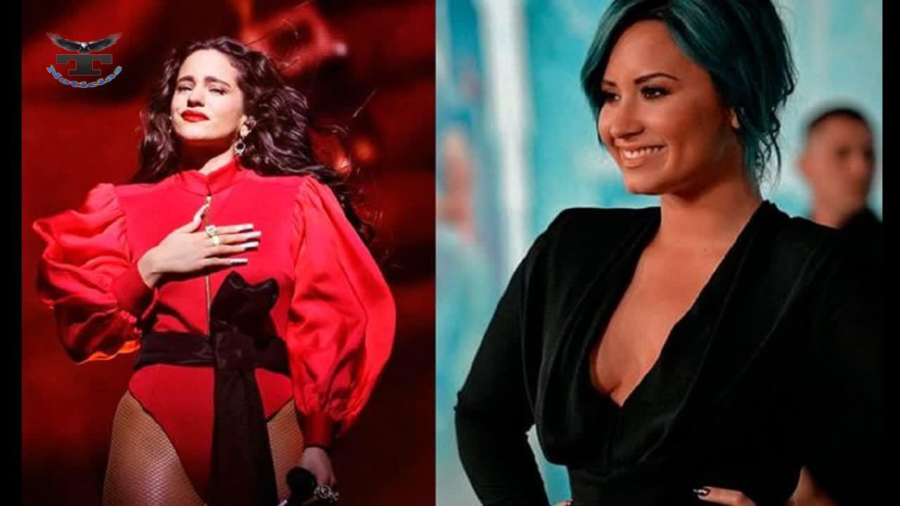 Demi Lovato y Rosalía