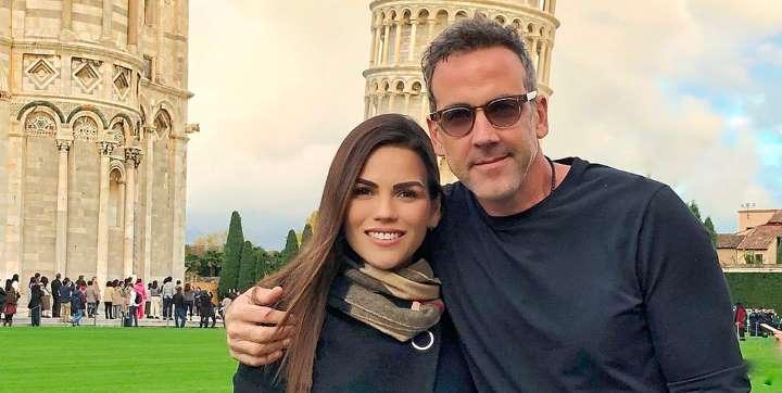 Carlos Ponce y Karina Banda