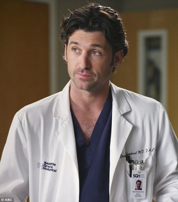 Patrick Dempsey de Grey's Anatomy anunció su regreso a la Televisión