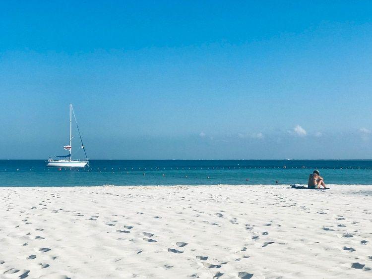'Tesoros' en las playas de Cancún