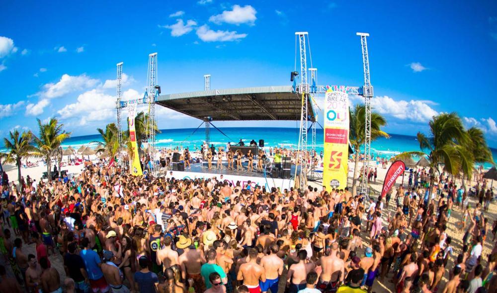 Spring Break Cancún 2020