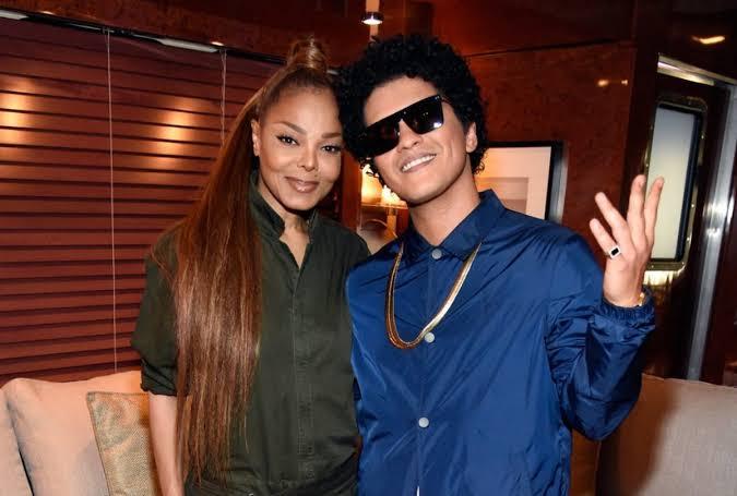 Bruno Mars y Janet Jackson