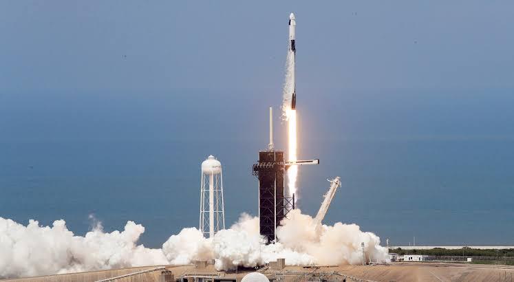 Cohete espacial SpaceX