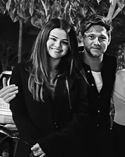 Selena Gómez y Niall Horan