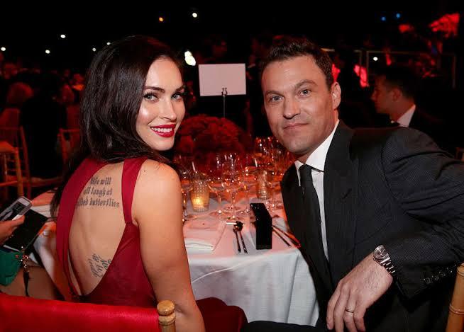 Megan Fox y su esposo