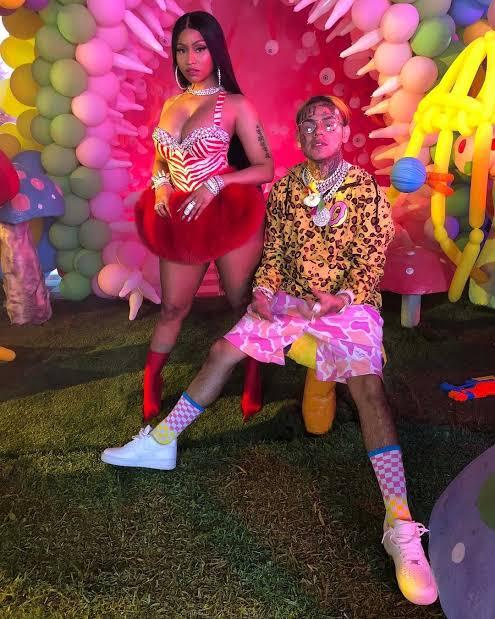 Nicki Minaj y Tekashi 6ix9ine