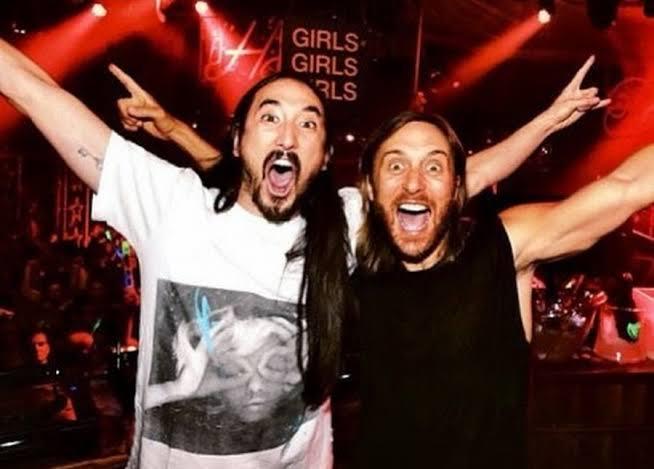 David Guetta y Steve Aoki