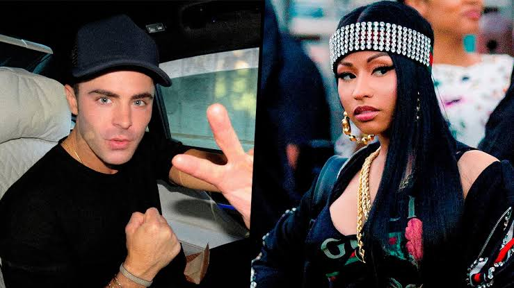 Zac Efron y Nicki Minaj