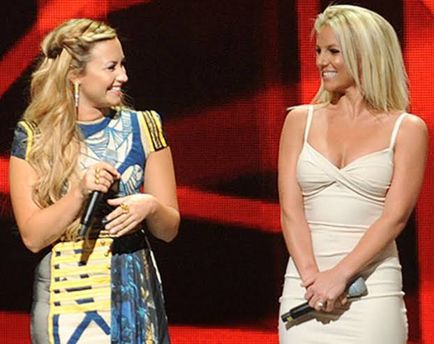 Demi Lovato y Britney Spears