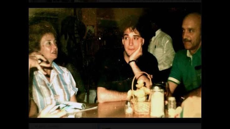 Gustavo Cerati y sus padres