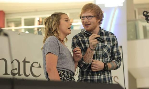 Cherry Seaborn y Ed Sheeran