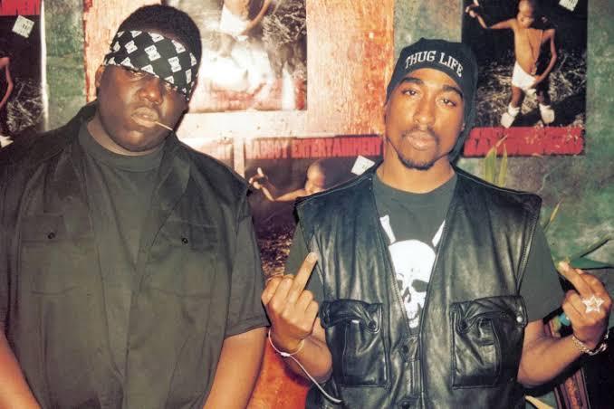 The Notorious B.I.G. y Tupac Shakur