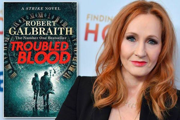 J.K. Rowling 'Troubled Blood'
