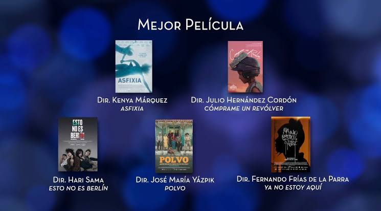 Nominados Premios Ariel 2020