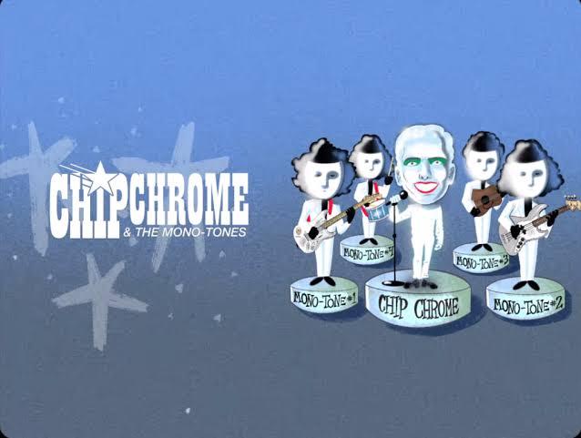 The Neighbourhood 'Chip Chrome & The Mono-Tones'