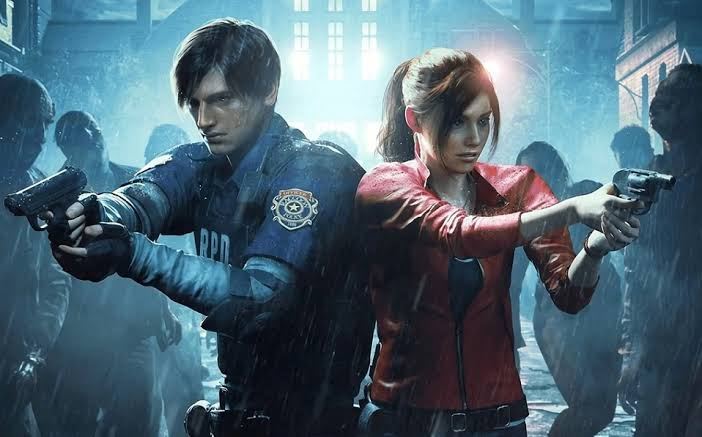 Leon S.Kennedy y Claire Redfield