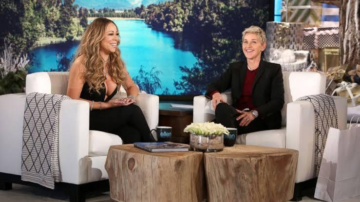 Mariah Carey 'The Ellen DeGeneres Show'