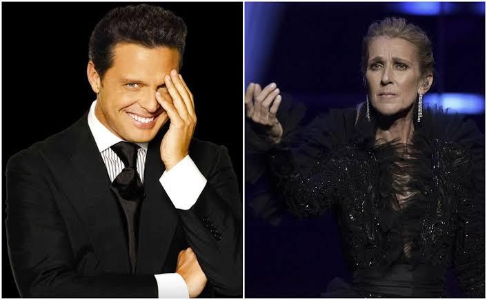 Luis Miguel y Céline Dion