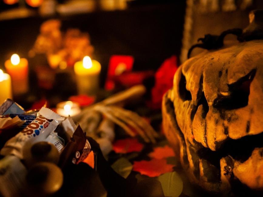 Dross en Halloween