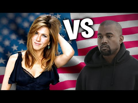 Jennifer Aniston VS Kanye West