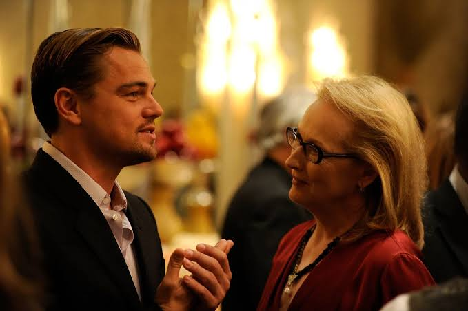 Leonardo DiCaprio y Meryl Streep
