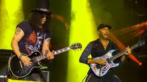 Slash y Tom Morello