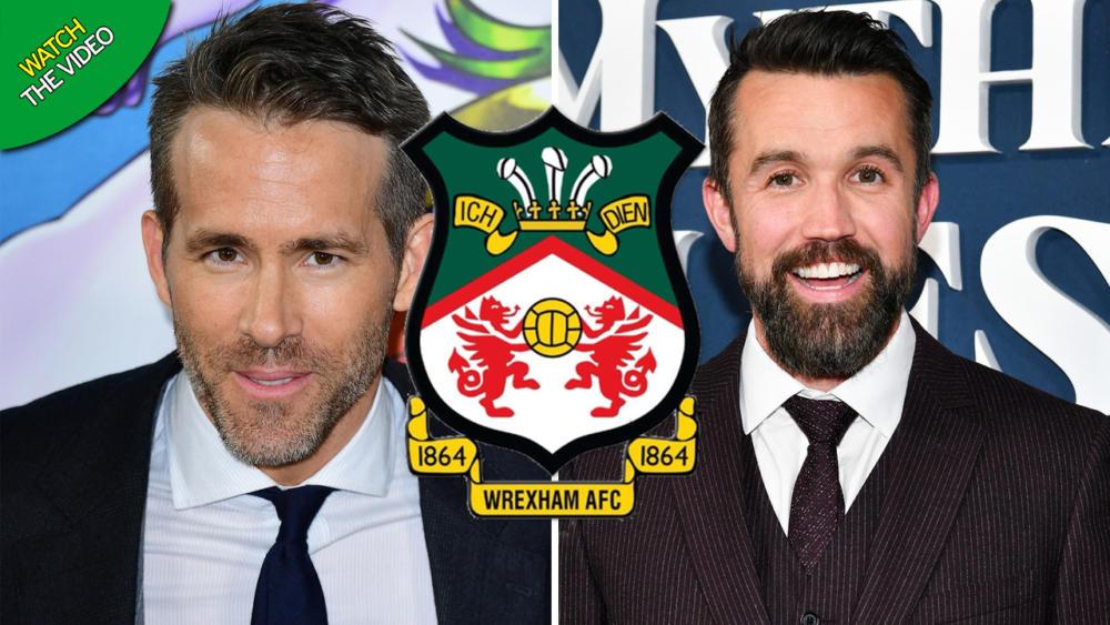 Ryan Reynolds y Rob McElhenneye