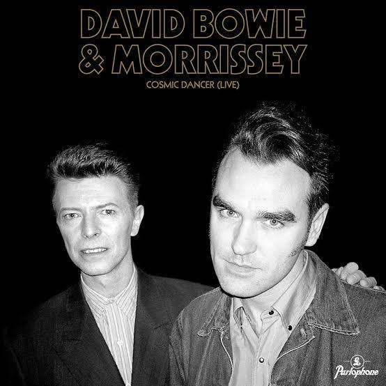 Morrissey y David Bowie