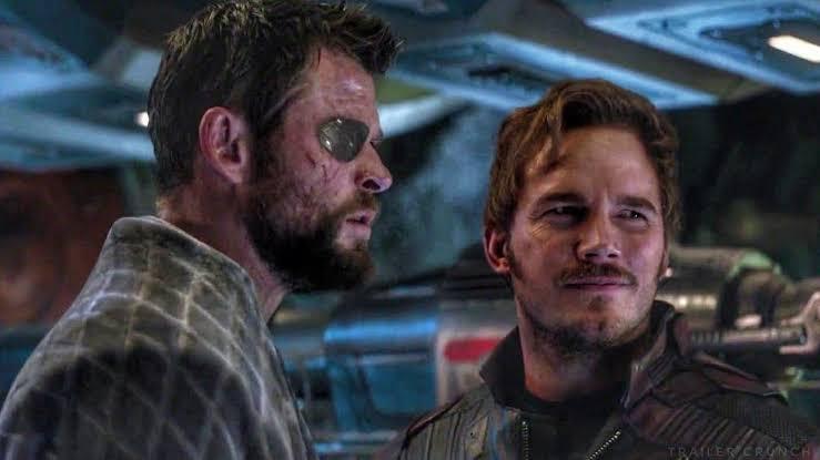Thor y Star Lord