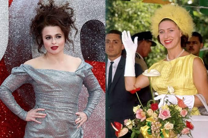 Helena Bonham y Princesa Margarita