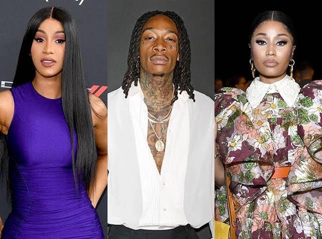 Cardi B, Wiz Khalifa y Nicki Minaj