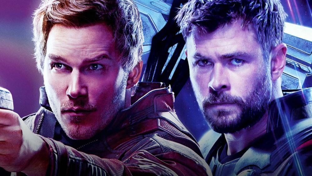 Star Lord y Thor