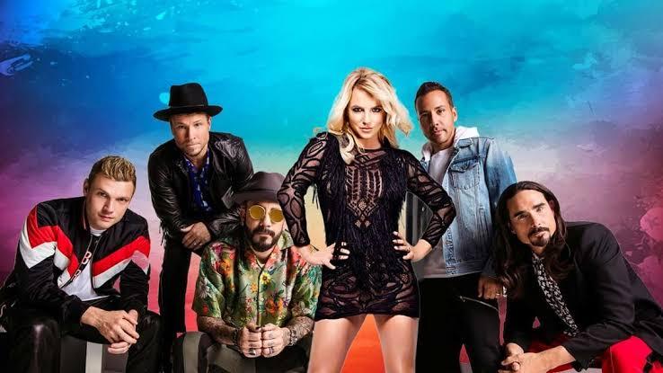Britney Spears y Backstreet Boys