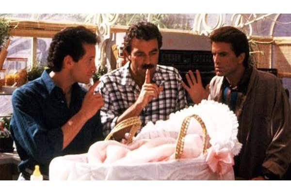 'Tres hombres y un bebé'
