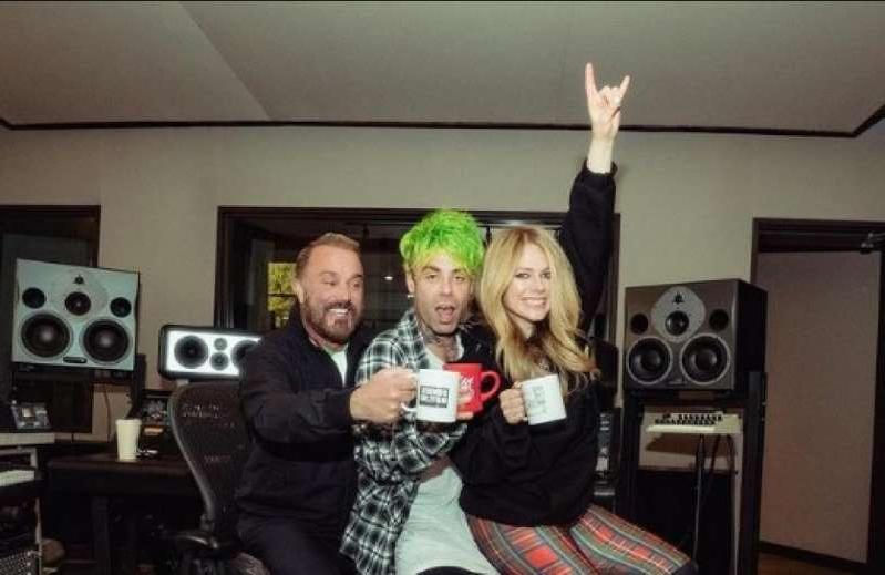 Avril Lavigne y Mod Sun