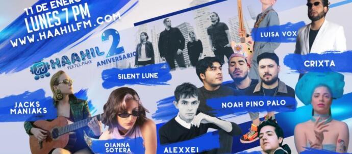 Haahil FM Concierto Virtual Aniversario 2